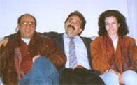 a Sanremo Famosi '92 con Maria Grazia Impero (1°class.) e Bruno Noli