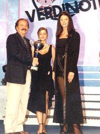 al programma VerdiNote con Miss Italia