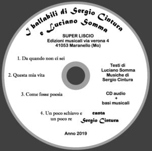 I ballabili di Sergio Cintura e Luciano Somma
